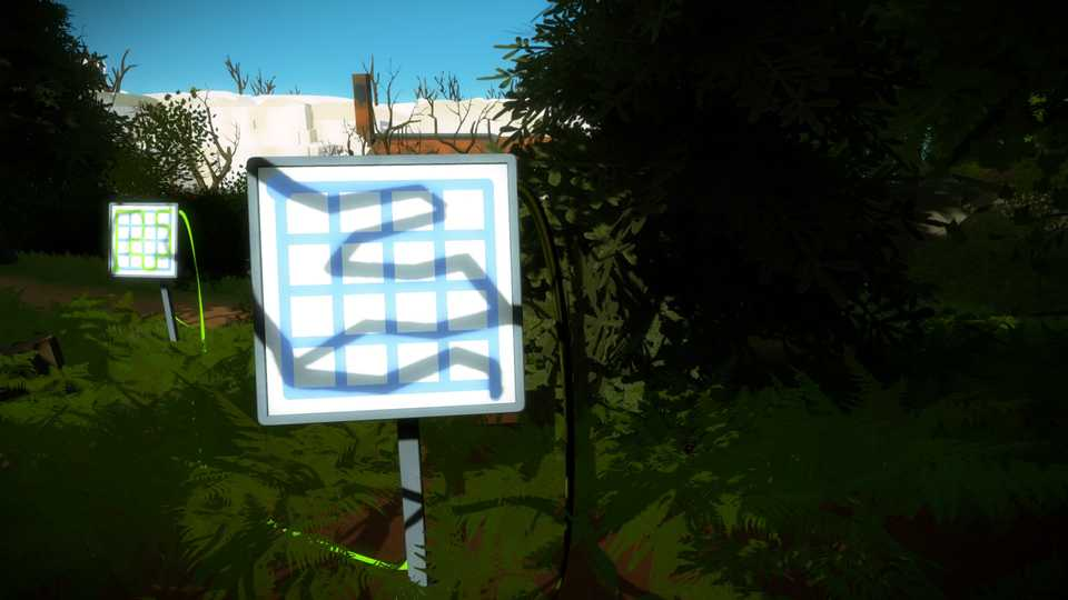 Puzzle In the Witness
